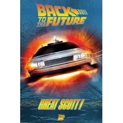 Back to the Future (Great Scott!) multifärg
