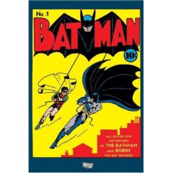 Batman - No 1 (Läderlappen nummer 1) multifärg