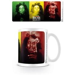 Bob Marley - Tricolour Smoke - Mugg multifärg