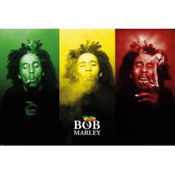 Bob Marley (Tricolour Smoke) multifärg