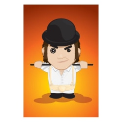 Clockwork Orange - Alex multifärg
