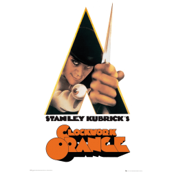 Clockwork Orange - One Sheet multifärg