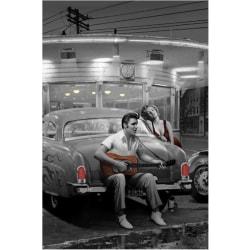 Consani - Legendary crossroads, Marilyn, Elvis multifärg