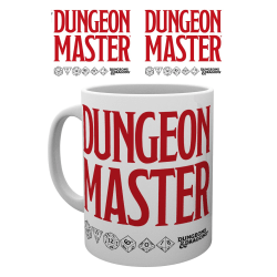 Dungeons and Dragons - Dungeon Master - Mugg MultiColor