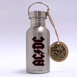 Eco Bottle - AC/DC - Logo multifärg