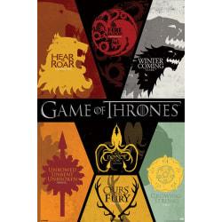Game of Thrones - Sigils multifärg