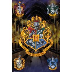 Harry Potter  Crests MultiColor