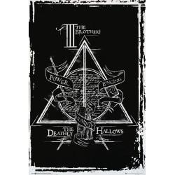 Harry Potter - Deathly Hallows Graphic multifärg