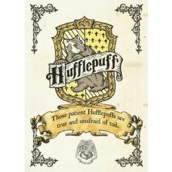 Harry Potter - Hufflepuff Crest multifärg