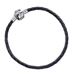 Harry Potter - Leather Charm Bracelet Black multifärg