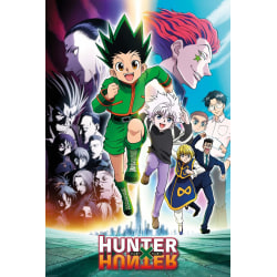 Hunter X - Hunter  Keyart Running