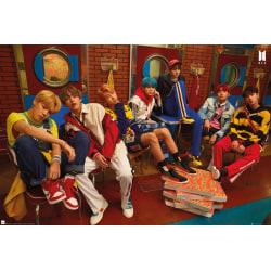 K-POP - BTS Crew multifärg