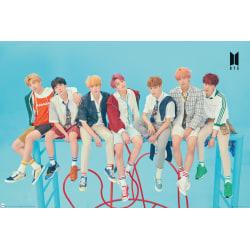 K-POP - BTS - Group Blue multifärg