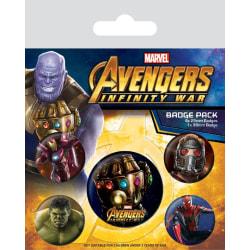 Knappsats - Badge Pack - Avengers: Infinity War (Infinity Gauntl multifärg