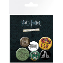 Knappsats - Badge Pack - Harry Potter - Mix MultiColor