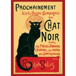 Le Chat Noir - Steinlein multifärg