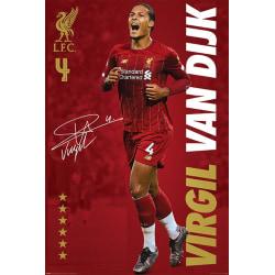 Liverpool FC - Virgil Van Dijk multifärg
