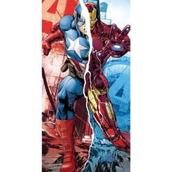 Marvel Avengers Captain America Iron Man - Handduk multifärg