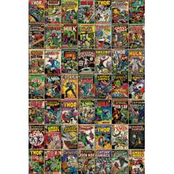 Marvel - Covers multifärg