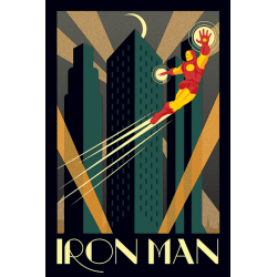 Marvel Deco - Iron Man MultiColor