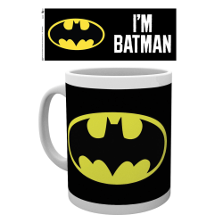 Mugg - Batman - Logo multifärg