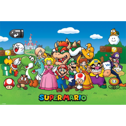 Nintendo - Super Mario - Characters multifärg