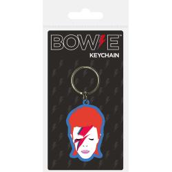Nyckelring - David Bowie (Aladdin Sane) multifärg