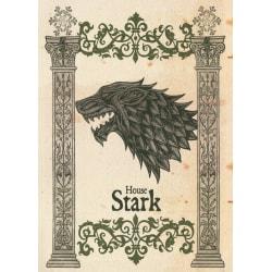 Pergament - Game Of Thrones - House Stark multifärg