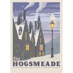 Pergament - Harry Potter - Visit Hogsmeade multifärg
