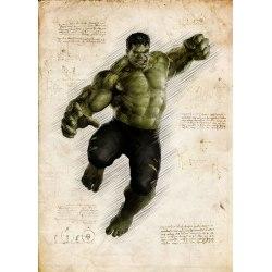 Pergament - Hulk multifärg