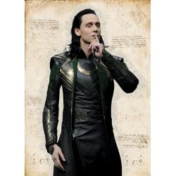 A3 Print - Loki MultiColor
