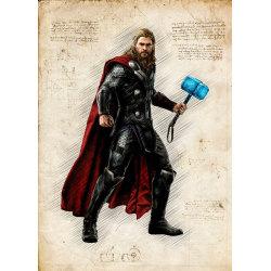 A3 Print - Thor MultiColor