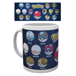 Pokemon - Ball Varieties - Mugg multifärg