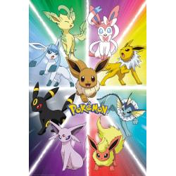 Pokemon - Eevee Evolution multifärg