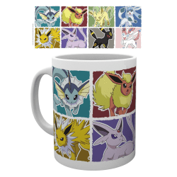 Pokemon - Eevee Evolution - Mugg multifärg