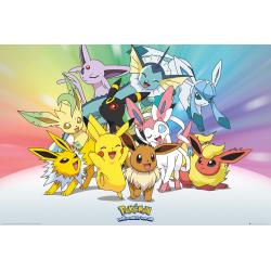 Pokemon - Eve multifärg