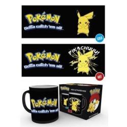 Pokemon - Pikachu - Mugg som byter motiv multifärg