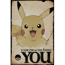 Pokemon - Pikachu Needs You multifärg