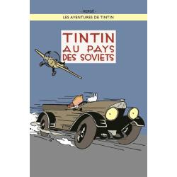Poster - Tintin au pays de Soviets - Tintin i Sovjet multifärg