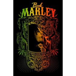 Posterflagga - Bob Marley - Touch The Sky multifärg