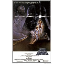 Star Wars - Episode 4 - One Sheet A multifärg