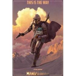 Star Wars: The Mandalorian (On The Run) multifärg