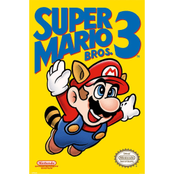 Super Mario Bros. 3 - NES Cover multifärg