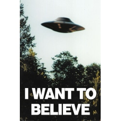 The X-Files - I Want To Believe MultiColor