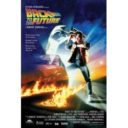 Tillbaka till framtiden - Back to the Future - One-Sheet multifärg