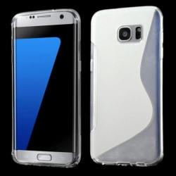 S-Design Skal till Samsung Galaxy S7 Edge transparent