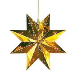 Classic stjärna mässing 28 cm