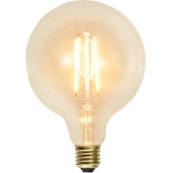 Decoration LED globlampa E27 kolfilament G125