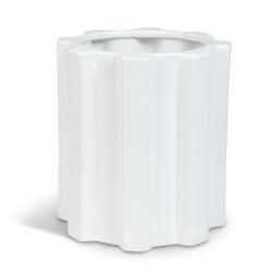 Design By Bergström Kruka Cloudy White Höjd: 22 cm 22 cm