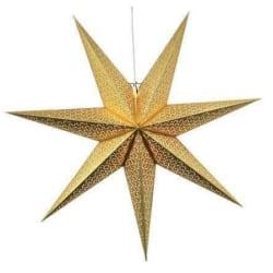 Dot Star 100cm pappersstjärna guld